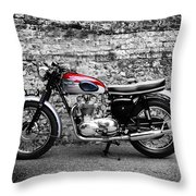 The Triumph Trophy Throw Pillow
