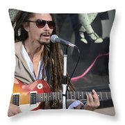 The Troubadour - Javier Manik 4 Throw Pillow