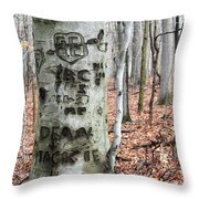 The True Love Tree Throw Pillow