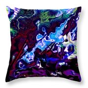 The Tuneful Measure Throw Pillow