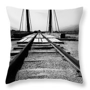 The Turntable Throw Pillow