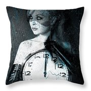 The Twelfth Hour Throw Pillow