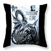 The Twilight Zone Throw Pillow