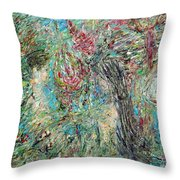 The Two And The Nature Throw Pillow