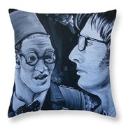 The Two Doctors Throw Pillow
