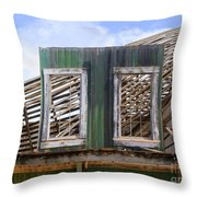 The Two Left Standing Throw Pillow