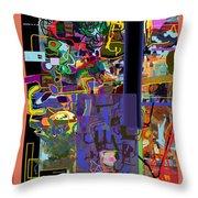 The Tzaddik Lives On Emunah 10 Throw Pillow
