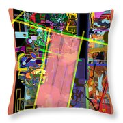 The Tzaddik Lives On Emunah 11 Throw Pillow