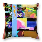 The Tzaddik Lives On Emunah 17 Throw Pillow