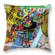 The Tzaddik Lives On Emunah 22 Throw Pillow