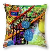 The Tzaddik Lives On Emunah 22c Throw Pillow