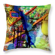 The Tzaddik Lives On Emunah 22d Throw Pillow