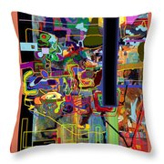 The Tzaddik Lives On Emunah 4 Throw Pillow