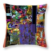 The Tzaddik Lives On Emunah 9 Throw Pillow