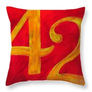 The Ultimate Answer Throw Pillow