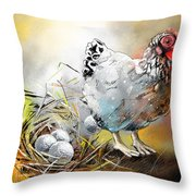 The Ultimate Golfer Gift Throw Pillow