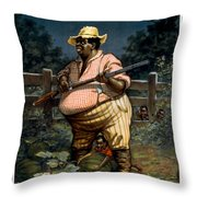 The Uncertainty Of A Sure Thing Throw Pillow by Aged Pixel