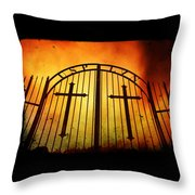 The Unforgiven  Throw Pillow