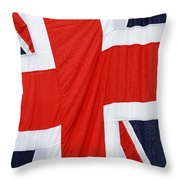 The Union Jack Throw Pillow