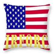 The United States Airforce Throw Pillow