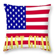 The United States Coast Guard Throw Pillow