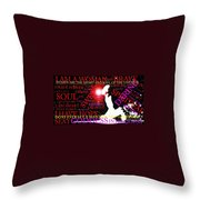The Universal Woman Throw Pillow