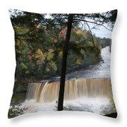 The Upper Throw Pillow