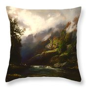 The Upper Nepean  Throw Pillow