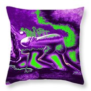 The Urge For Mutual Happiness Throw Pillow