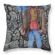 The Vagabond Throw Pillow