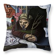 The Valley Heir Vs. The Vagabonds Of The Universe Throw Pillow