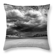 The Valley Of Shadows Throw Pillow