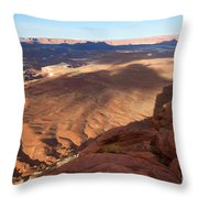 The Valley So Low Throw Pillow