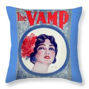The Vamp Throw Pillow