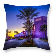 The Van Wezel Throw Pillow