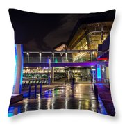 The Vancouver Convention Centre Throw Pillow