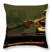 The Venetian Ferrari Symbol - A Gondola Seahorse Throw Pillow