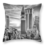 The Venetian Resort Hotel Casino Throw Pillow