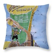 The  Vernor's Plant Throw Pillow by Kate Ford