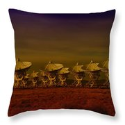 The Very Large Array In New Mexico Throw Pillow