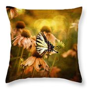 The Very Young At Heart Throw Pillow by Lois Bryan