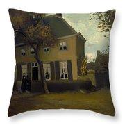 The Vicarage At Neunen Throw Pillow