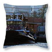 The Vicki M. Mcallister Throw Pillow
