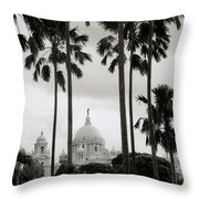 Victorian Calcutta Throw Pillow