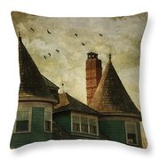 The Victorian Throw Pillow