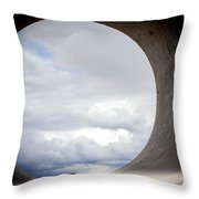 The View Above Throw Pillow by Fran Riley