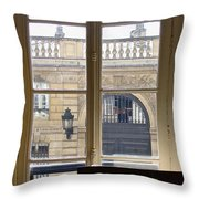 The View From Across The Way Throw Pillow