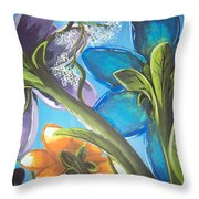 The View From Below Throw Pillow