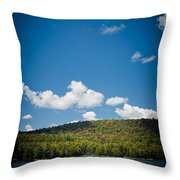 The View From Big Moose Inn Throw Pillow