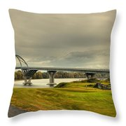 The View From Crown Point New York Throw Pillow